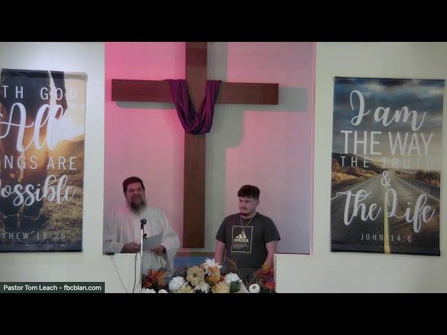 Baptism Of Kurtis Lambert