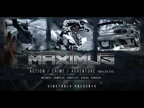 """""""Maximus"""" Action & Crime SFX Library by Cinetools"""