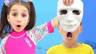 Who is Wearing the Mask?! | Playful Sunny Day video for kids