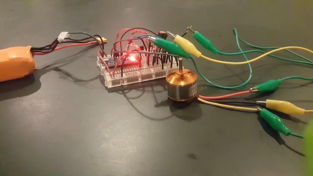 Bldc Motor Control Circuit Using Arduino