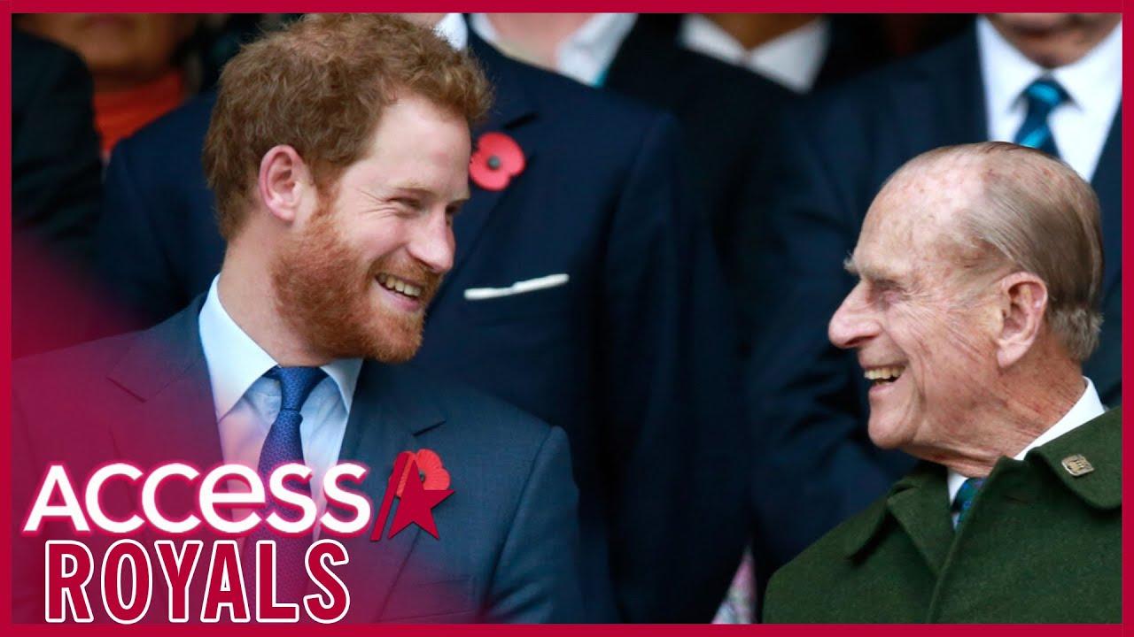 Prince Harry's Heartfelt Tribute To Prince Philip