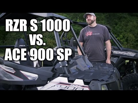 2016 Polaris RZR S 1000 and ACE 900 SP
