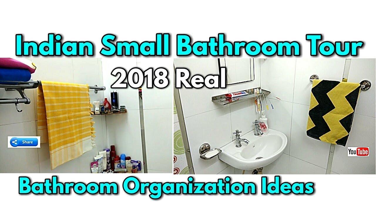 Indian Small Bathroom Tour 2018 Bathroom Organization Ideas How To
