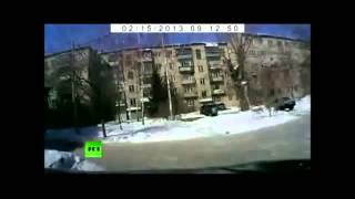 ロシア 隕石落下  Russian meteorite fall  Русские падения метеорита