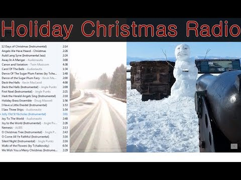 Christmas Music Radio Mix 🎁 Xmas Classic Playlist ❄ Winter Holiday