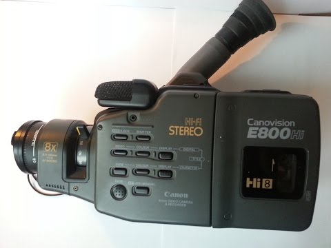 Canon Canovision E800HiE Hi8 Video Camera