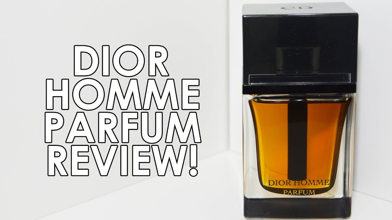 DIOR HOMME PARFUM by CHRISTIAN DIOR FRAGRANCE REVIEW! | CascadeScents