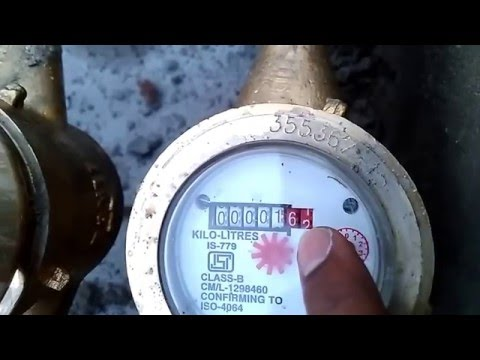 How To Calculate Water Flow Meter Reading