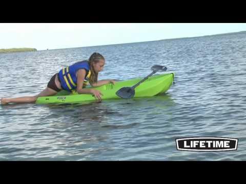 Lifetime Kids Sit On Top Kayak (Green)