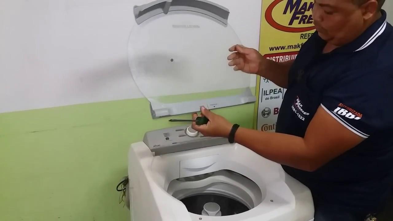 Como Trocar A Tampa Da Maquina De Lavar Brastemp Bwl 11