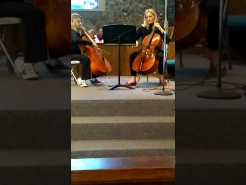 Simple Gifts Cello Duet