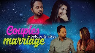 Couples Before And After Marriage | The Idiotz | Hilarious