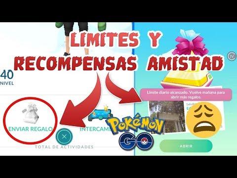 LIMITES en INTERCAMBIOS y REGALOS / RECOMPENSAS POR NIVEL DE AMISTAD | Pokémon GO