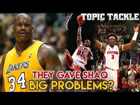 Did Ben Wallace and Dennis Rodman Give Shaq BIG PROBLEMS?