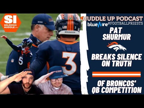 Pat Shurmur Settles Score on Where Lock vs. Teddy Competition Stands | Huddle Up Podcast