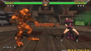 Mortal Kombat Armageddon - Blaze Arcade Ladder