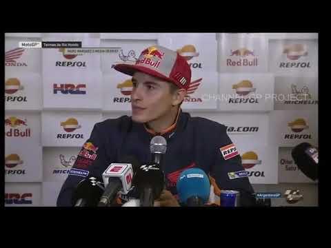 Marc Marquez explains himself after Argentina MotoGP race
