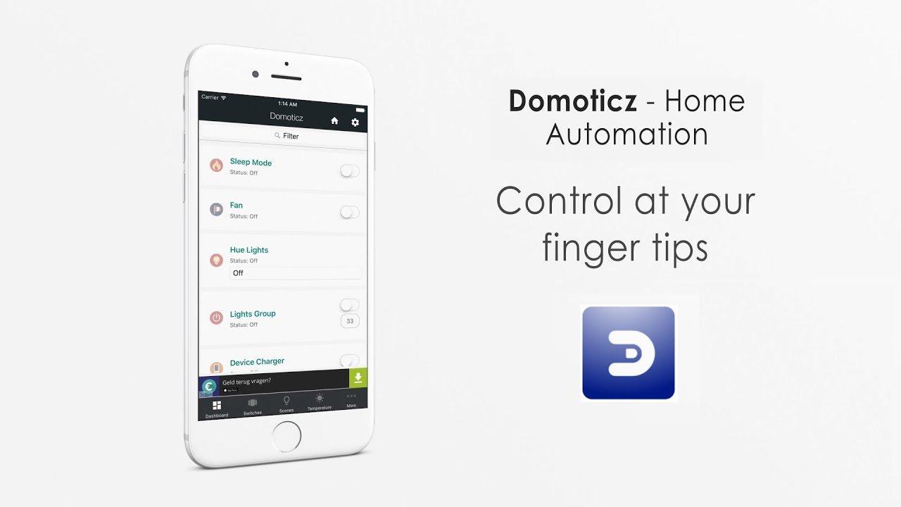 Domoticz App - Domoticz