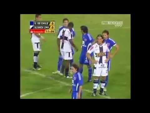 90' U. DE CHILE 2x2 Alianza Lima (Per). Vuelta, 8º, Copa Libertadores 2010