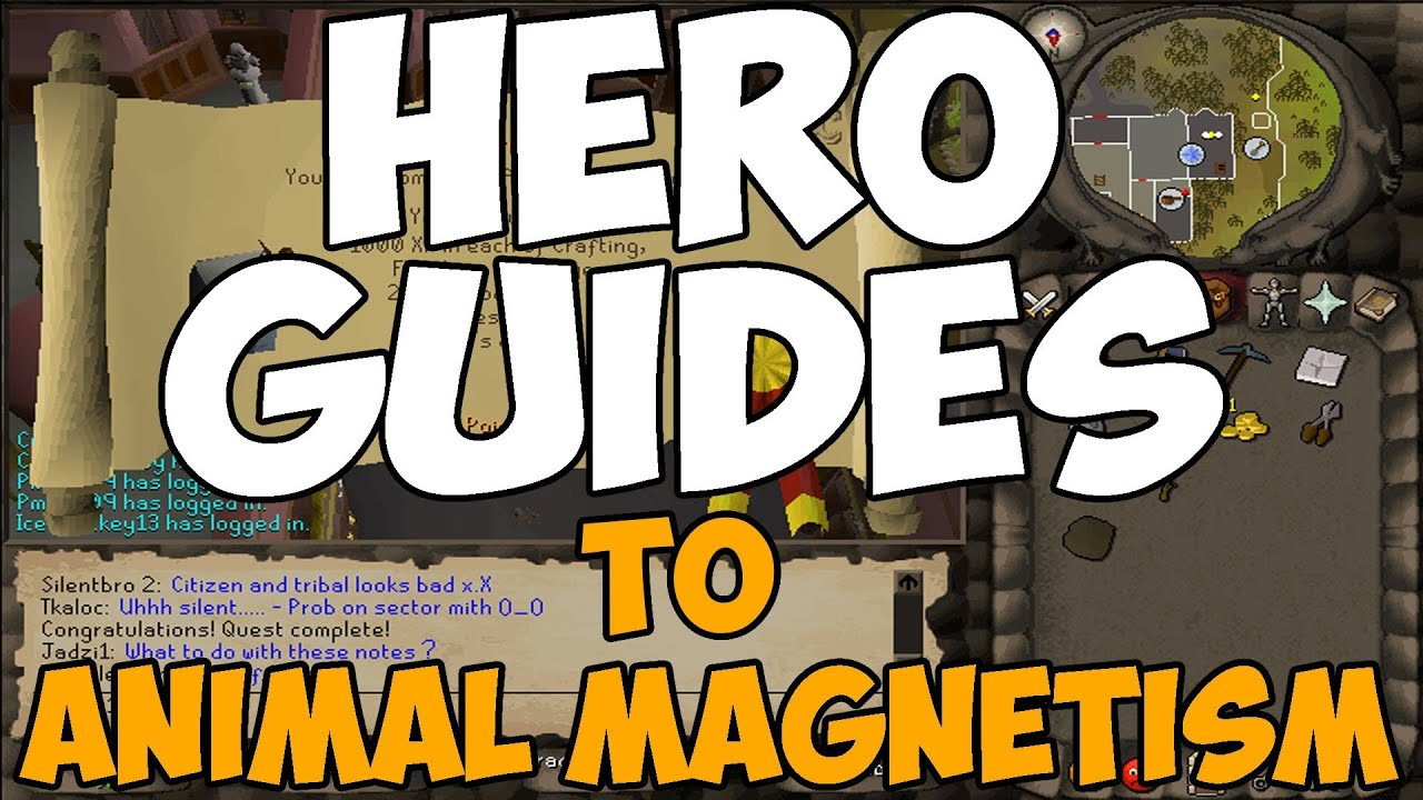 Animal Magnetism - RuneScape Guide - RuneHQ