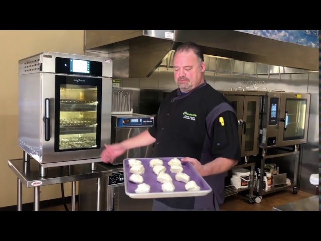 Fisher Fair Scones in the Vector Oven featuring Alto-Shaam