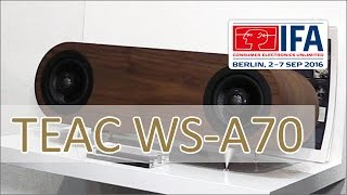 IFA 2016: TEAC WS-A70 - All in One High-Res Audio Player