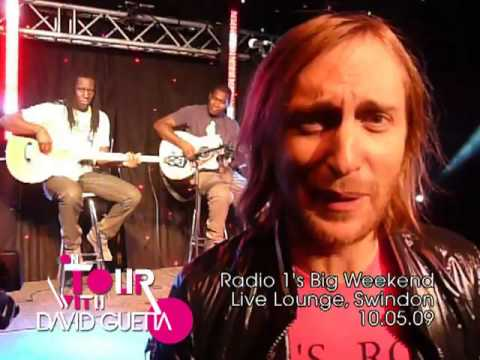 On Tour with David Guetta — 10.05.09 — Radio 1 Live Lounge with Kelly Rowland — Swindon