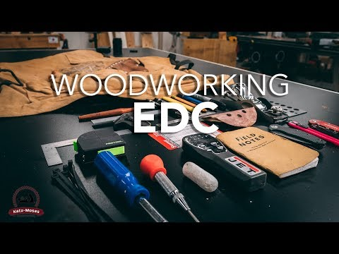 Woodworking EDC Challenge - What's in my Tool Apron?