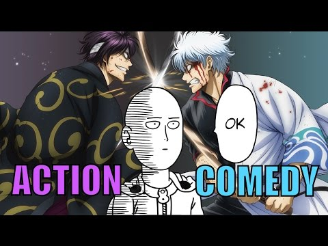 Top 10 Action/Comedy Anime Moments Series & Recommendations (P.2)