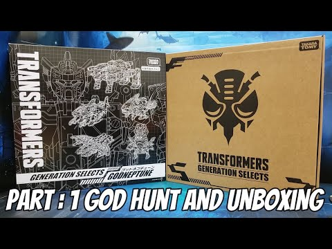 Transformers Takara Tomy God Neptune Unboxing by The Mr. Stan Show