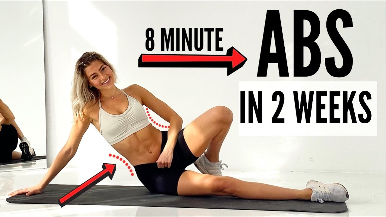 ABS IN 2 WEEKS - 8 Min. Workout Challenge / define lower & upper ABS for Summer | Mary Braun