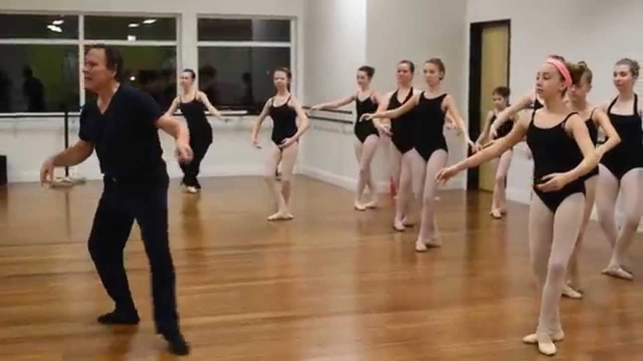 Reflections School of Dance - Ballet Master Class with Marco ...