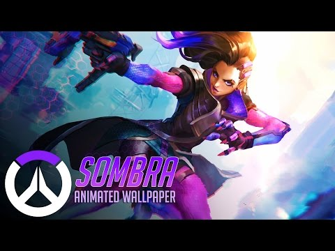 Sombra | Animated Wallpaper - Overwatch