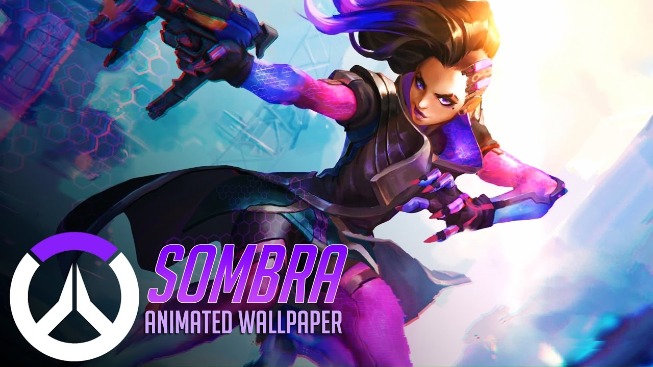 Sombra Animated Wallpaper Overwatch