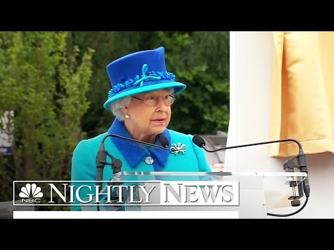 A Royal Record: Queen Elizabeth II Is Britain's Longest-Reigning Monarch | NBC Nightly News