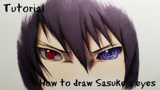 How To Draw Sasuke