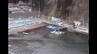 【津波】あの日を忘れない!SHOCKING! a footage of tsunami 311 2011 Japan 釜石市両石町 thumbnail