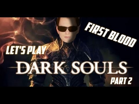 Herdyn Plays Dark Souls CZ/SK Let's Play - Part 2 (FIRST BLOOD!)