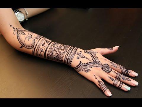 MY HENNA - Jagua Tattoo # 4