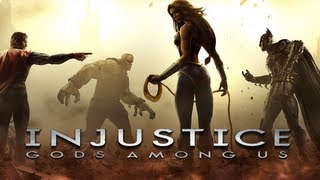 """Injustice Gods Among Us - """"Official Launch Trailer"""" - Injustice Gods Among Us Gameplay"""