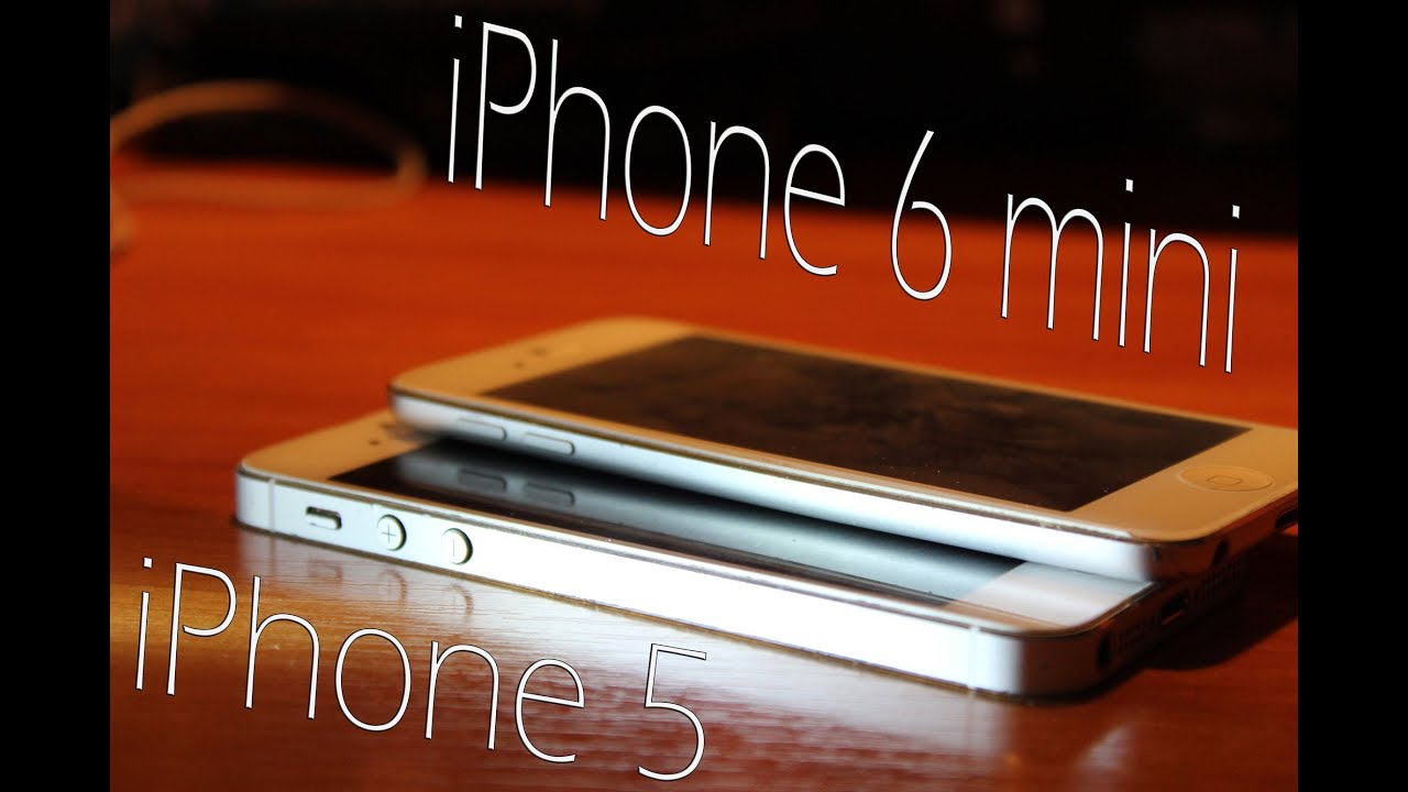 mini iphone 6 iphone 5 vs iphone 6 mini 12633