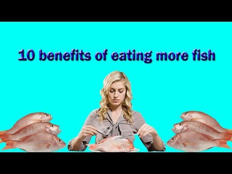 10 benefits of eating more fish