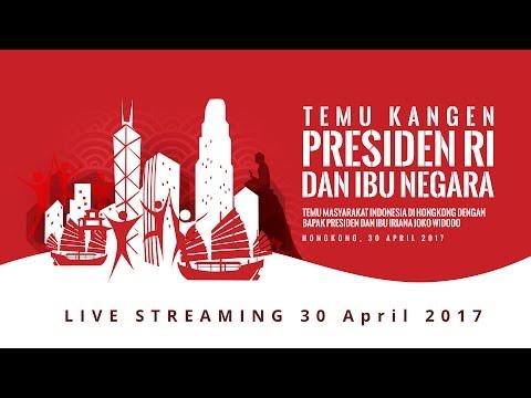 Temu Masyarakat Indonesia di Hong Kong dengan Presiden Joko Widodo, Hong Kong 2017