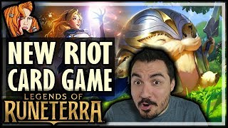 NEW RIOT CARD GAME! LEGENDS OF RUNETERRA