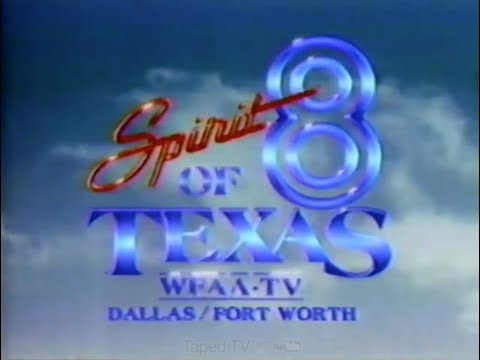 80s Local News - Spirit Of Texas Channel 8 - Dallas / Fort Worth