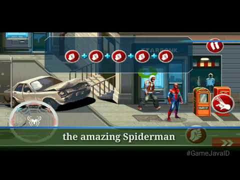 ALL SPIDERMAN GAMES FOR JAVA MOBILE