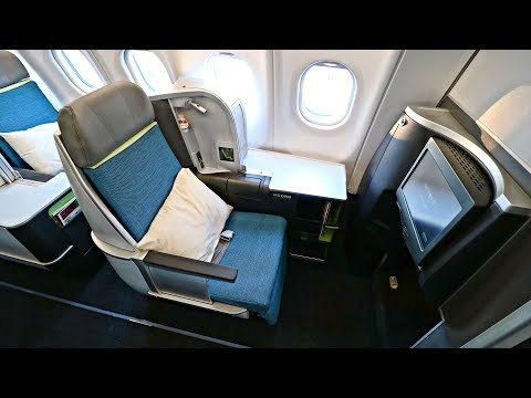 TRIP REPORT | Aer Lingus BUSINESS CLASS | Airbus A330-300 | New York JFK to Dublin