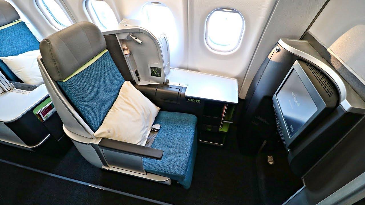 Seat Aer Lingus A330 Dublin Map