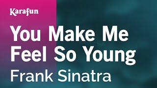 Karaoke You Make Me Feel So Young - Frank Sinatra *