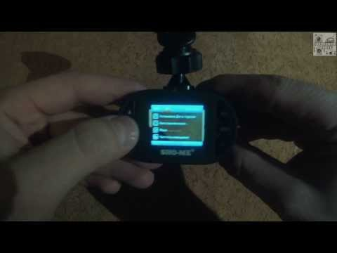 Обзор видеорегистратора SHO-ME HD34-LCD unboxing&overview